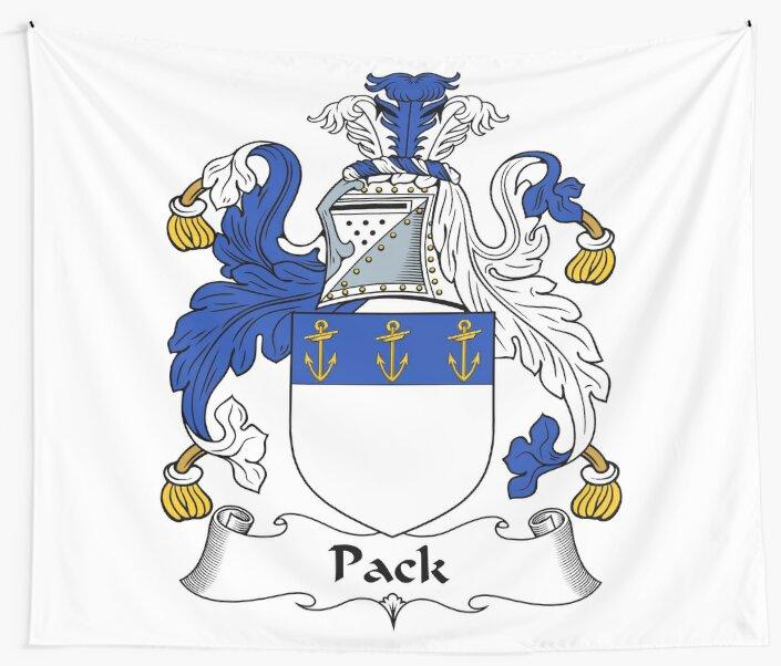Pack or Packe by HaroldHeraldry