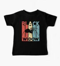 Black Widow Vintage Retro Baby Tee