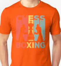 Chess Boxing Vintage Retro T-Shirt