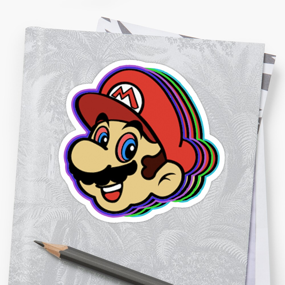 Stoned Mario by Kit2795