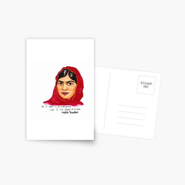 Malala Postcard