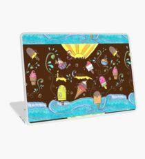 Summer Ice Cream Doodle Laptop Skin