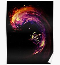Space Surfing Poster