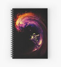 Space Surfing Spiral Notebook
