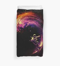 Space Surfing Duvet Cover