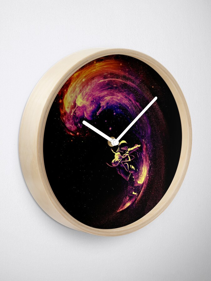 Vista alternativa de Reloj Navegación espacial