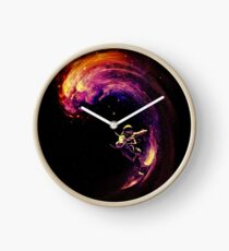 Space Surfing Clock
