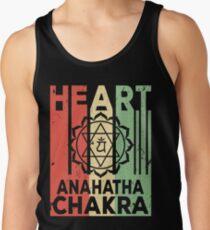 Yoga Heart Chakra Anahatha Vintage Retro Tank Top
