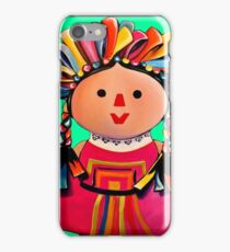 Mexican Maria Doll 3 iPhone Case/Skin