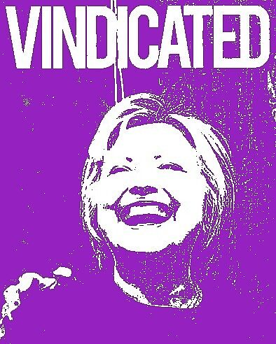 "Hillary Clinton ""Vindicated"" - Purple by Tchurch"