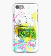 Retro Abstract Radio iPhone Case/Skin