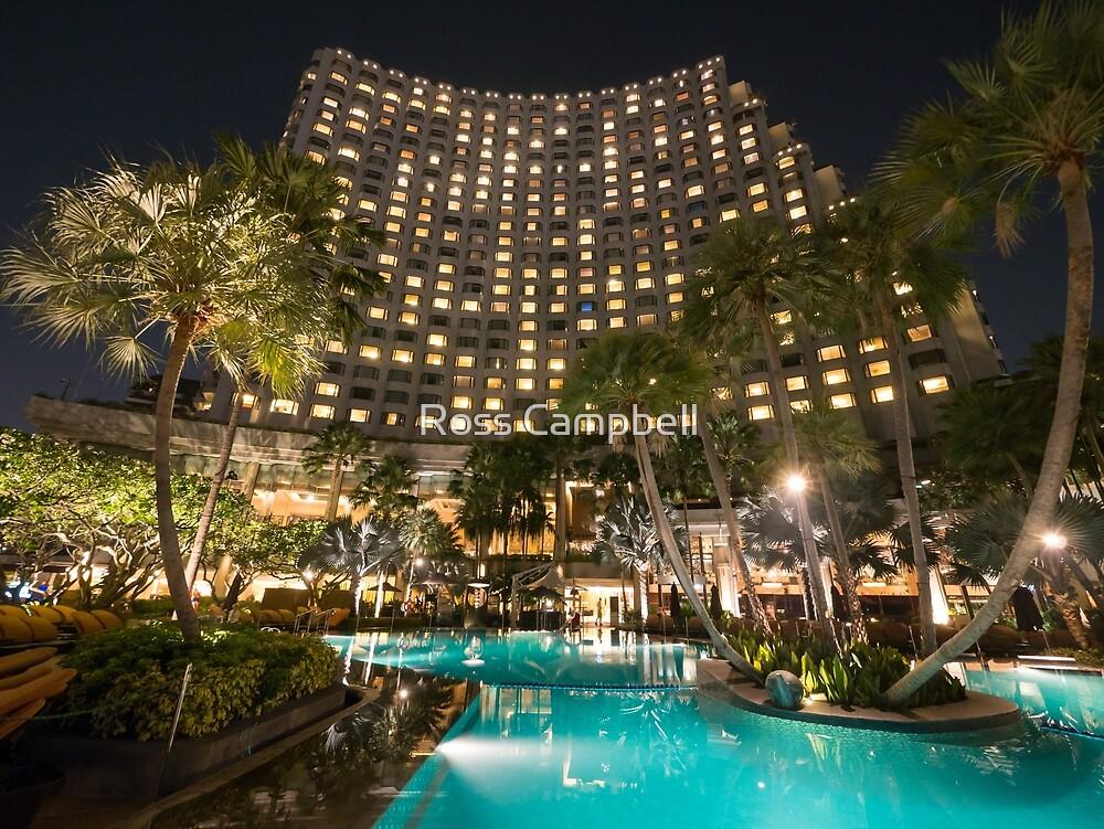 Shangri-La Hotel, Bangkok, Thailand by Ross Campbell