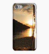 Sunset on the Amazon River iPhone Case/Skin