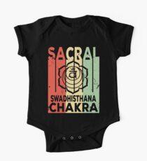 Yoga Sacral Chakra Swadhisthana Vintage Retro One Piece - Short Sleeve