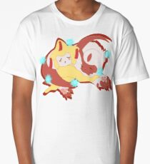 Sleeping Jirachi and Absol Long T-Shirt