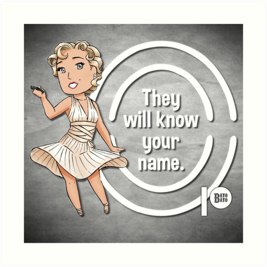 Media Says They Will Know Your Name by bayobayo
