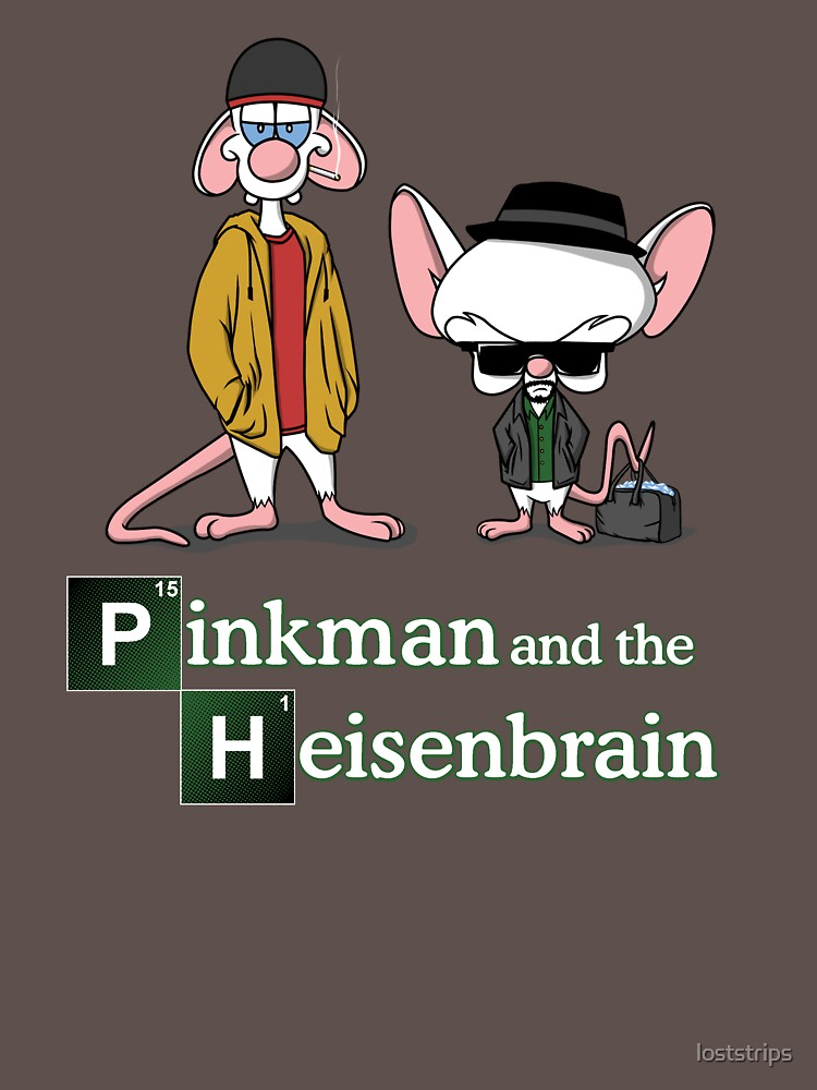 Pinkman and the Heisenbrain Breaking Bad | Unisex T-Shirt