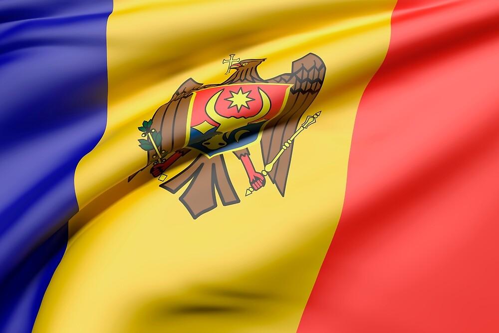 Moldavia flag by erllre74