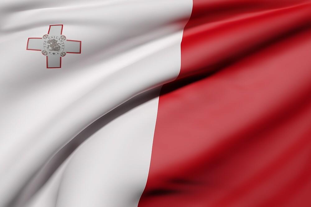 Malta flag by erllre74