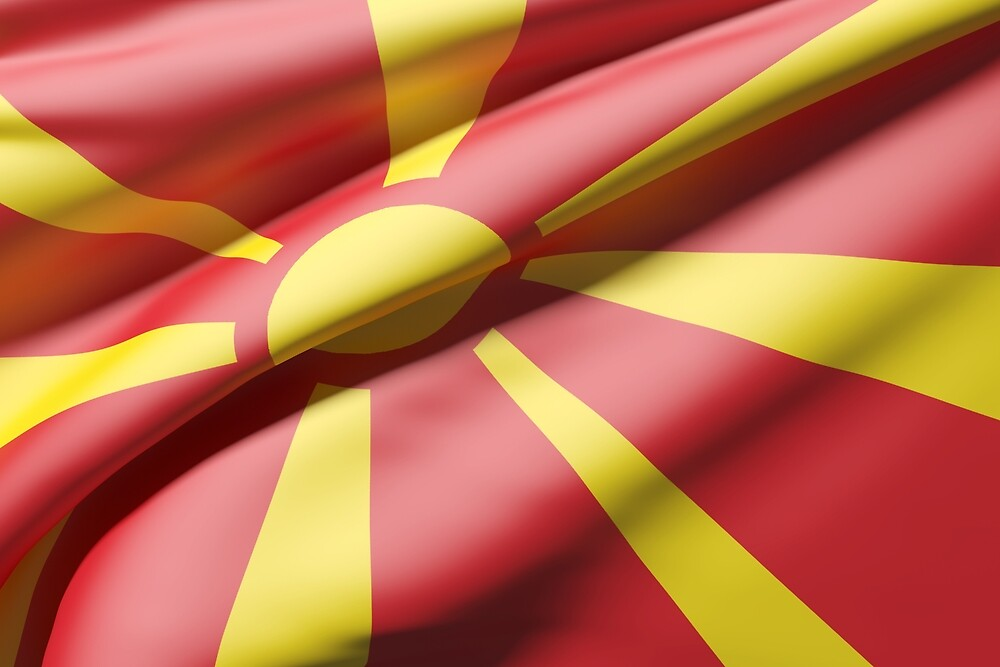 Macedonia flag by erllre74