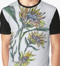 Sunflower Crazy Graphic T-Shirt