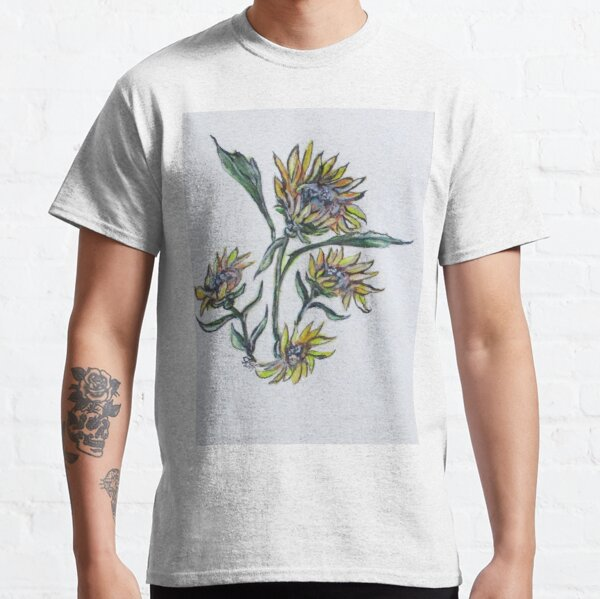Sunflower Crazy Classic T-Shirt