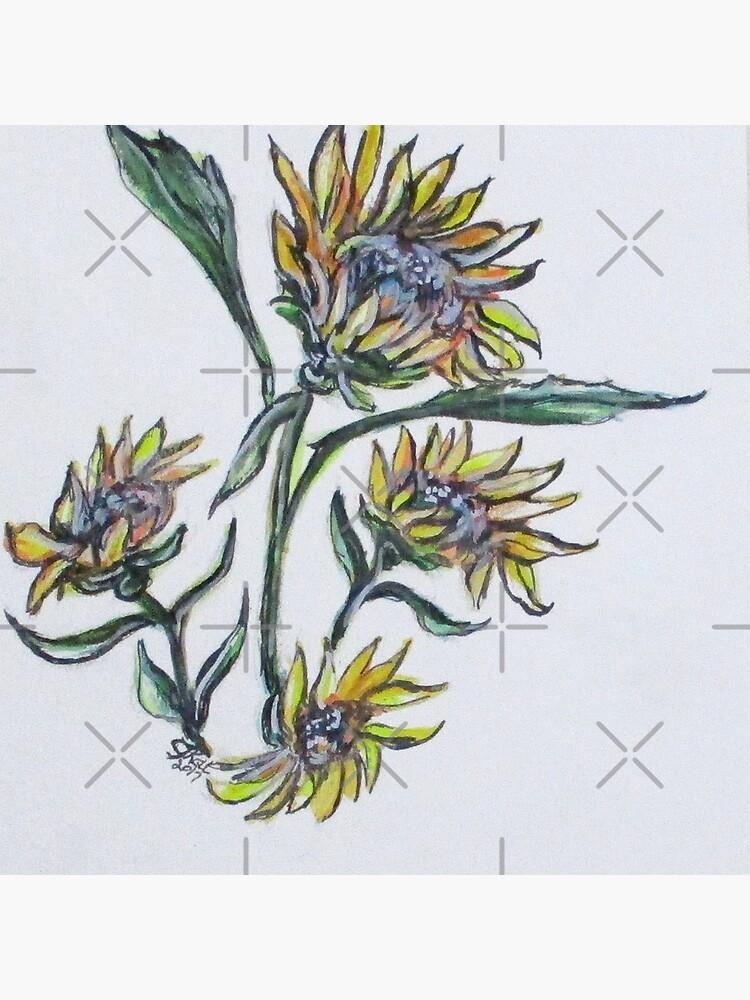 Sunflower Crazy by cjkell