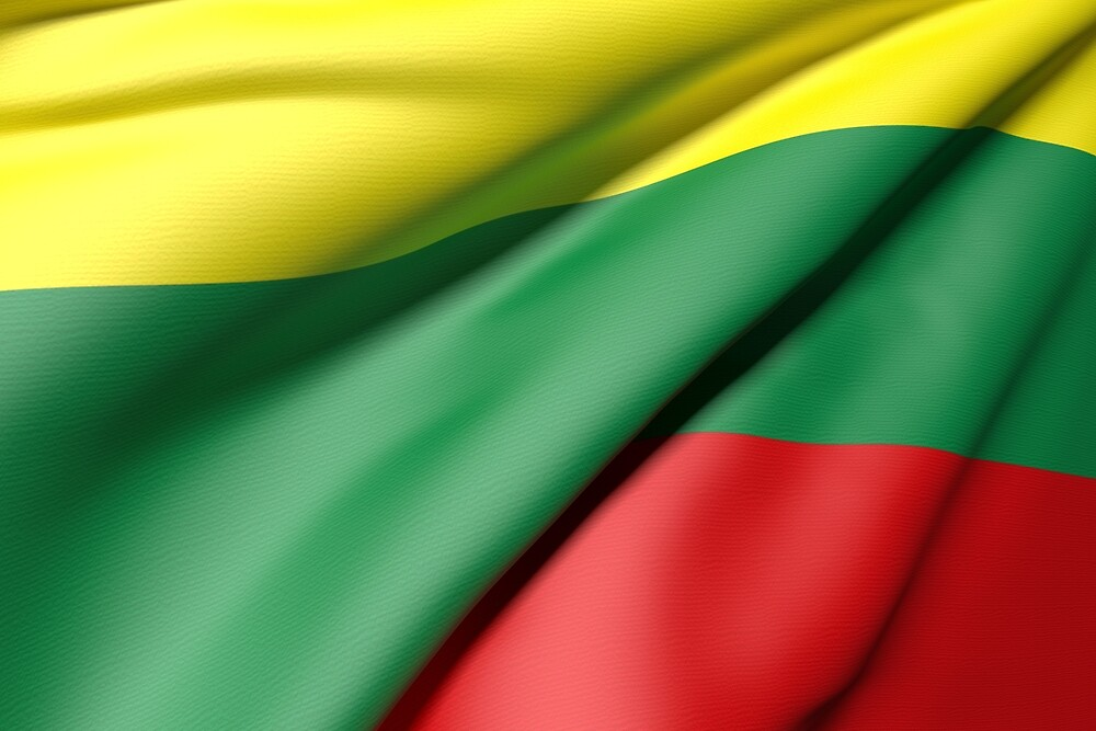 Lithuania flag by erllre74