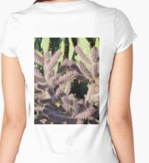 Layers of Cactus  Women's Fitted Scoop T-Shirt