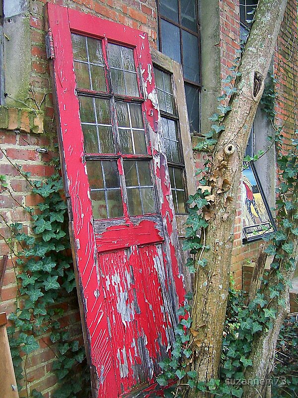 Old Red Door by suzannem73