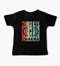 Yoga Third Eye Chakra Vintage Retro Baby Tee