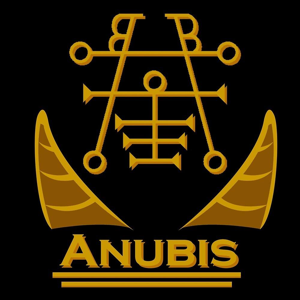 Anubis by Dragon-Venom55
