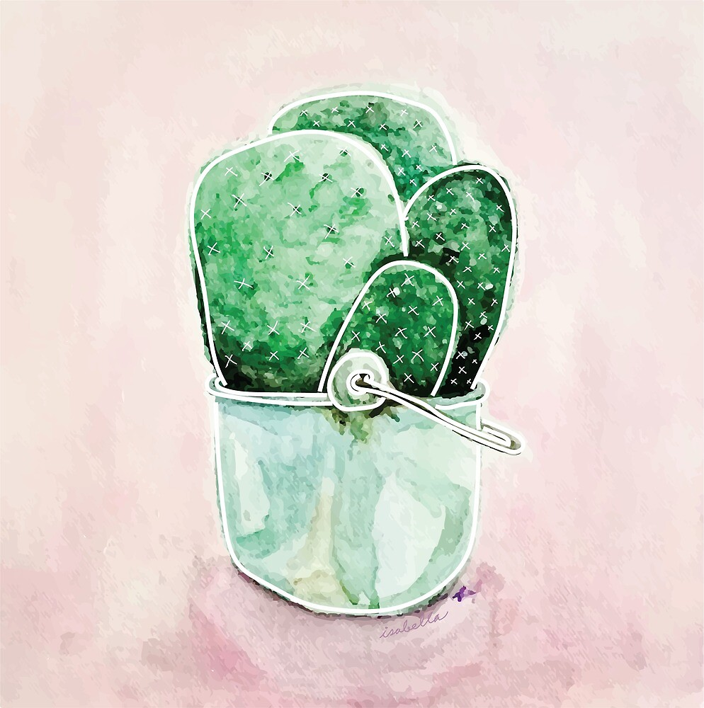 Cactus Pot by Isabella Rogers