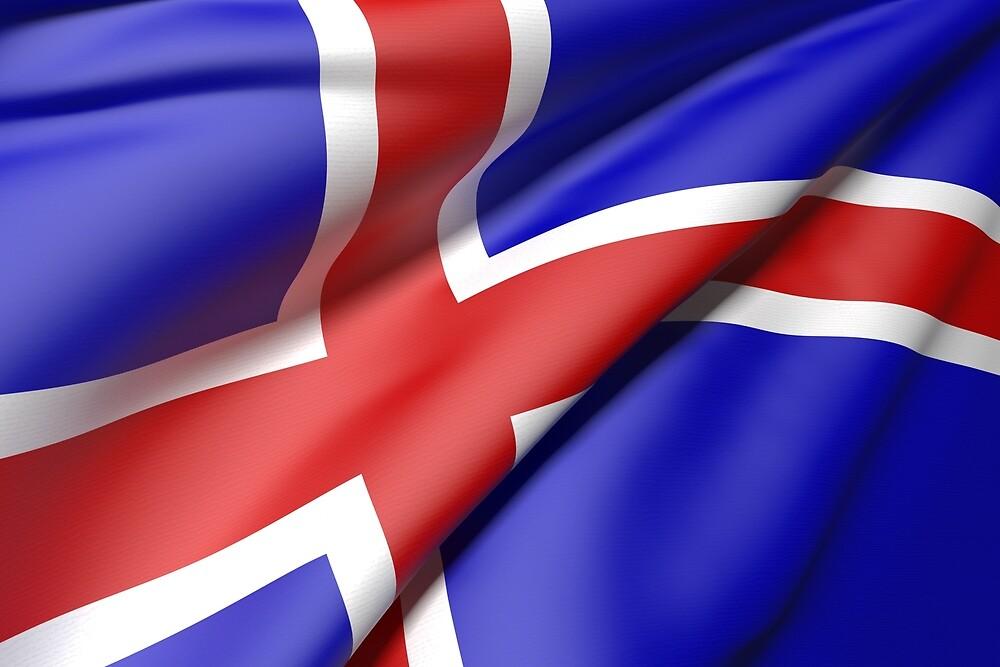 Iceland flag by erllre74