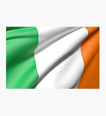 Ireland flag Photographic Print