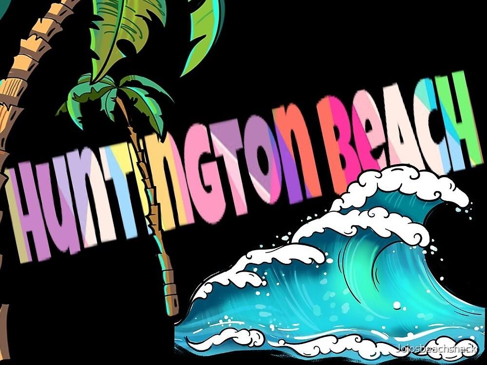 Postcard from Huntington Beach by Jojosbeachshack