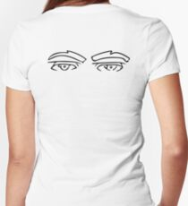 I'm Watching U! Women's Fitted V-Neck T-Shirt