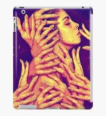 Painting hands iPad Case/Skin