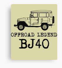 BJ40 legend Canvas Print