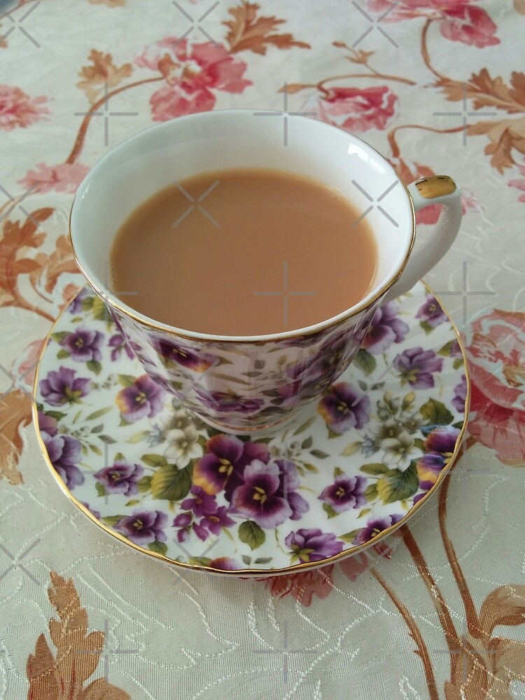 Cups of tea by LizEllisPhotos