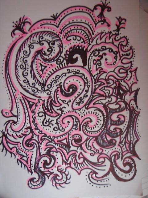 pink vs black by Samia ♥
