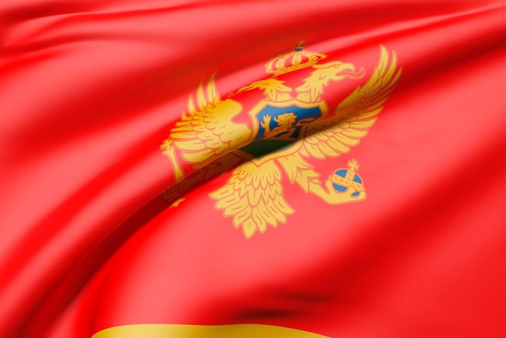 Montenegro flag by erllre74