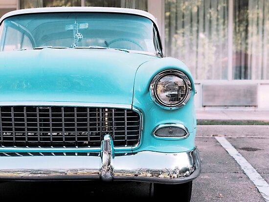 Little Blue Car by gxrrett