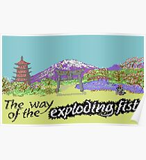 Way Of The Exploding Fist Poster