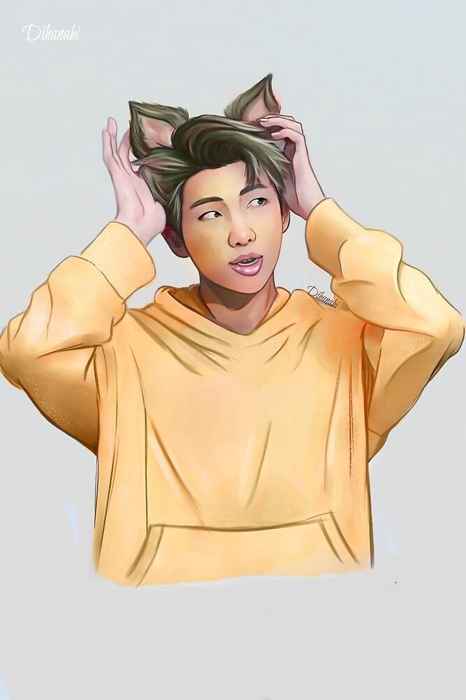 Hybrid BTS RapMonster Namjoon Rap Monster by Dihanabi
