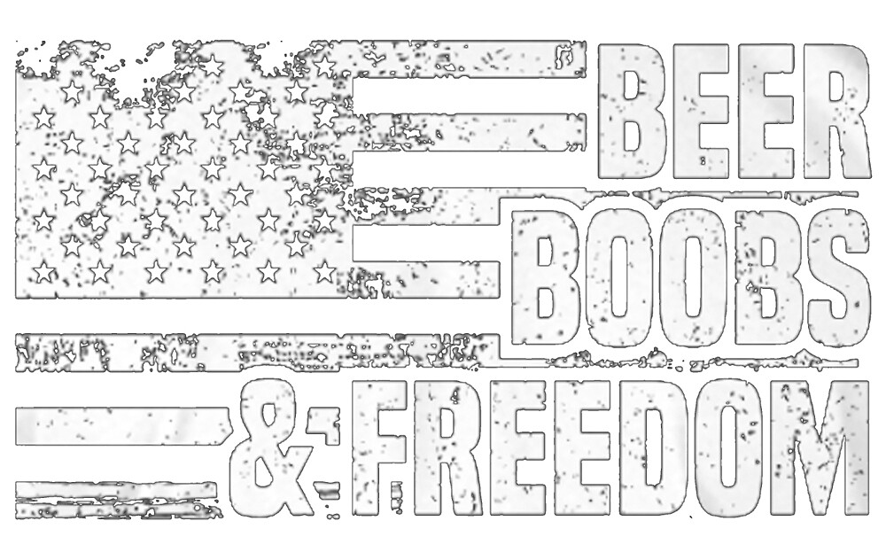 Beer boobs and freedom by klixfet