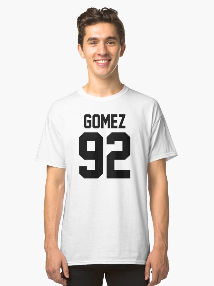 #SELENAGOMEZ, the heart wants what it wants Classic T-Shirt Front