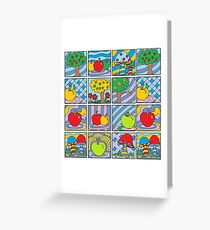 It's All About Apples - Mini Doodle Art Greeting Card