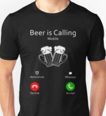 Beer Is Calling Shirt Unisex T-Shirt