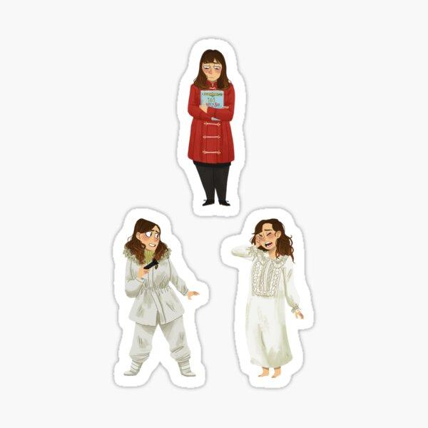 Every Clara Outfit Ever #13 Sticker